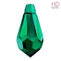Goccia Swarovski 6000 mm 11x5,5 Emerald x 1pz