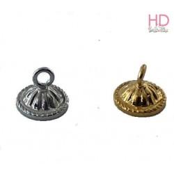 Coppetta x goccia 4861 con anellino argento x 1pz