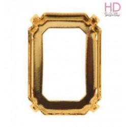 Castone per cabochone 4610/A color oro - 1pz