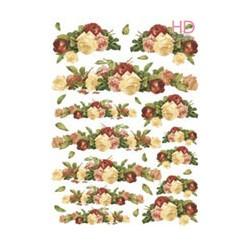 CARTA CLASSICA DECOUPAGE EVASIONI 35 x 50 cm - DECOMANIA