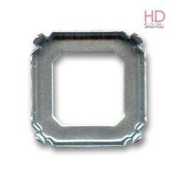 Castone per cabochone 4675 23mm color nikel - 1pz