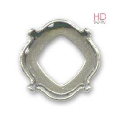 Castone per cabochone 4470 12mm color nikel - 1pz