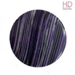 Cabochon in pietra naturale striata viola d. 2 cm  - 1pz