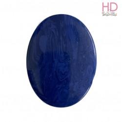 Ovale in pietra naturale striata blu d. 4x3 cm - 1pz