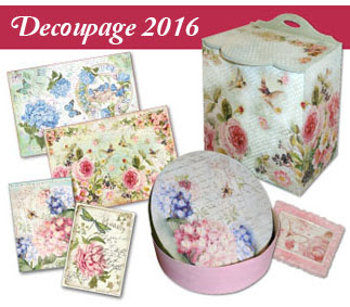 Catalogo Stamperia Decoupage 2016