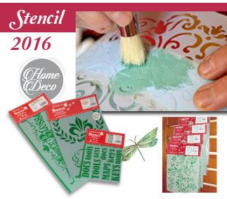 Catalogo Stamperia Stencil 2016